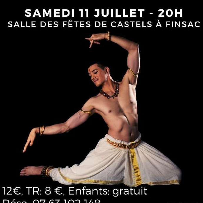 Spectacle de danse indienne: Thomas Vo Van Tao Mohiniyattam