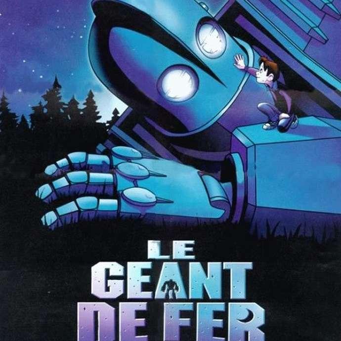 """Ciné Passion en pleine air """" Le Geant de Fer """""""