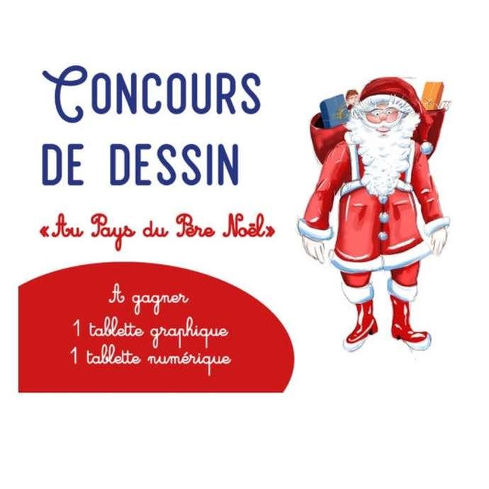 """Concours de dessin """"Sarlat au Pays du Père Noël"""""""