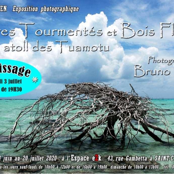 Exposition photographique Bruno Marty  et céramiste sculpteur Francis Daniel