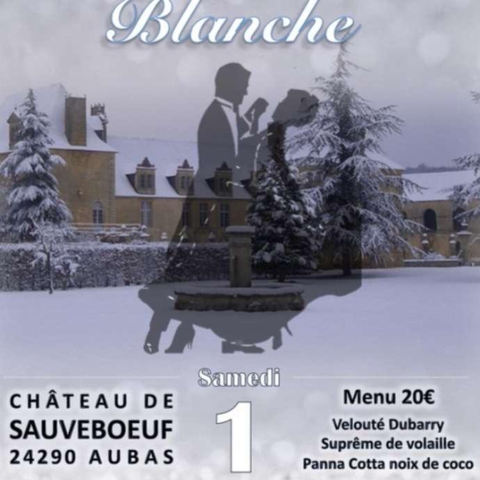 Soirée Blanche au Château de Sauveboeuf