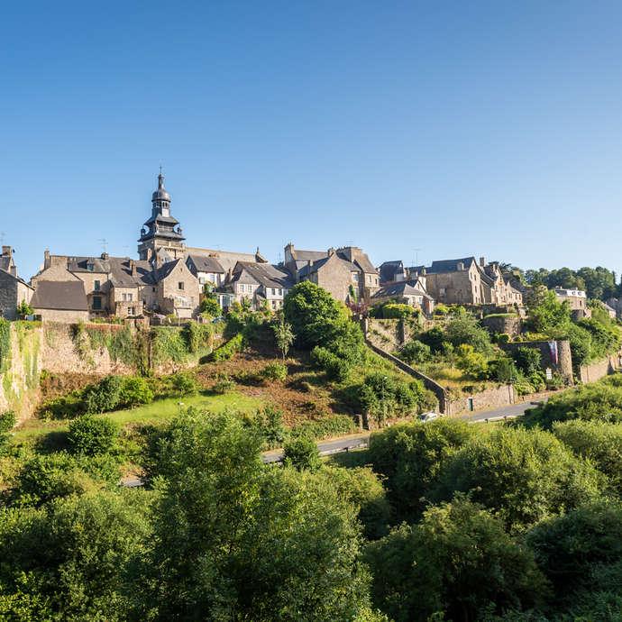 Petite Cité de Caractère de Moncontour, Cité Médiévale