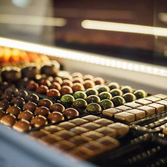 Au monde du chocolat