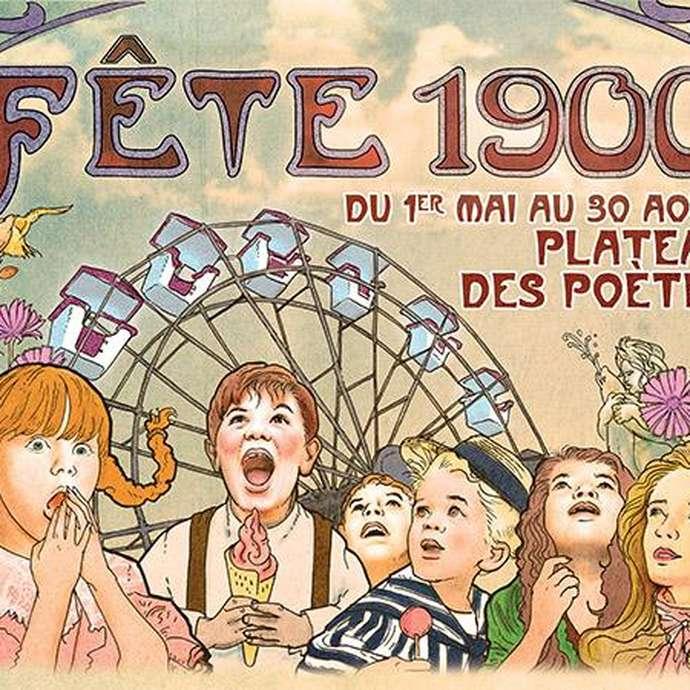 FÊTE FORAINE 1900 ET LA GUINGUETTE