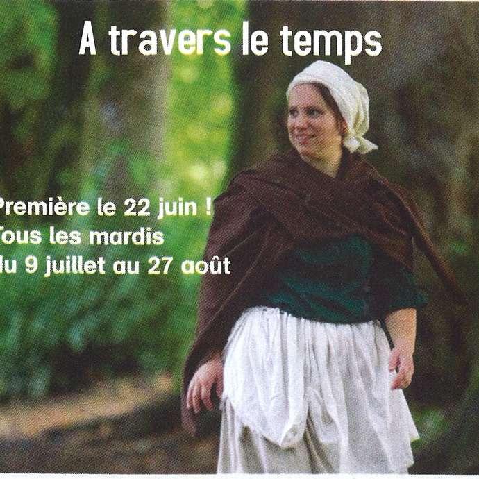"""""""À TRAVERS LE TEMPS"""" AU PARC DE PIERRE-BRUNE"""
