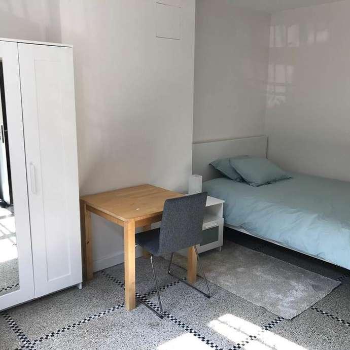 Studio Les Etangs d'Ixelles, logement meublé