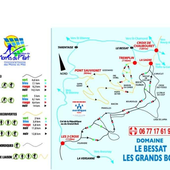 Domaine Nordique du Bessat - Les Grands Bois