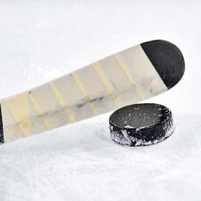 Match d'exhibition de hockey sur glace