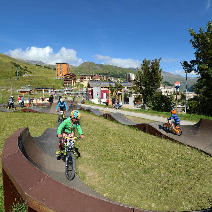 Activité Vélo sur le Pumptrack