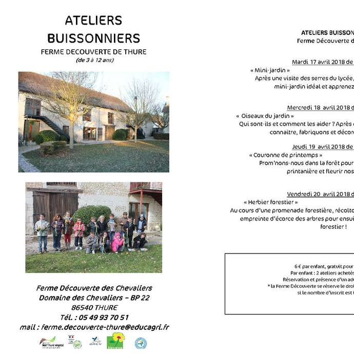 Ateliers buissonniers