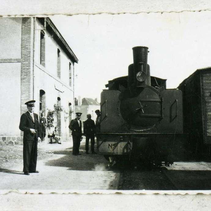 BALADE GORRONNAISE - LE TRAIN À GORRON