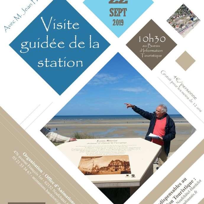JOURNEE DU PATRIMOINE : VISITE GUIDEE DE LA STATION