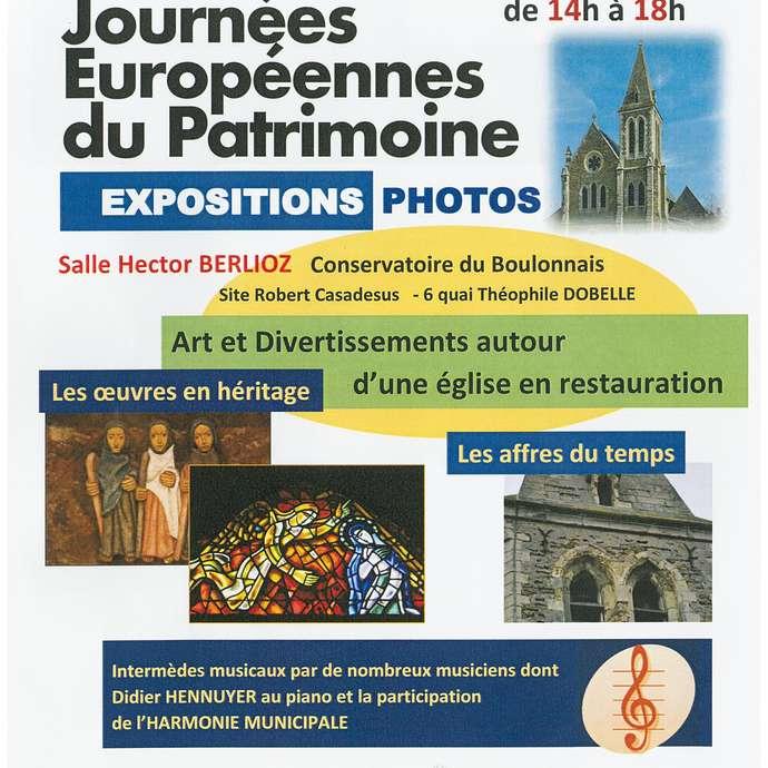 JOURNÉES DU PATRIMOINE EXPOSITION PHOTOS